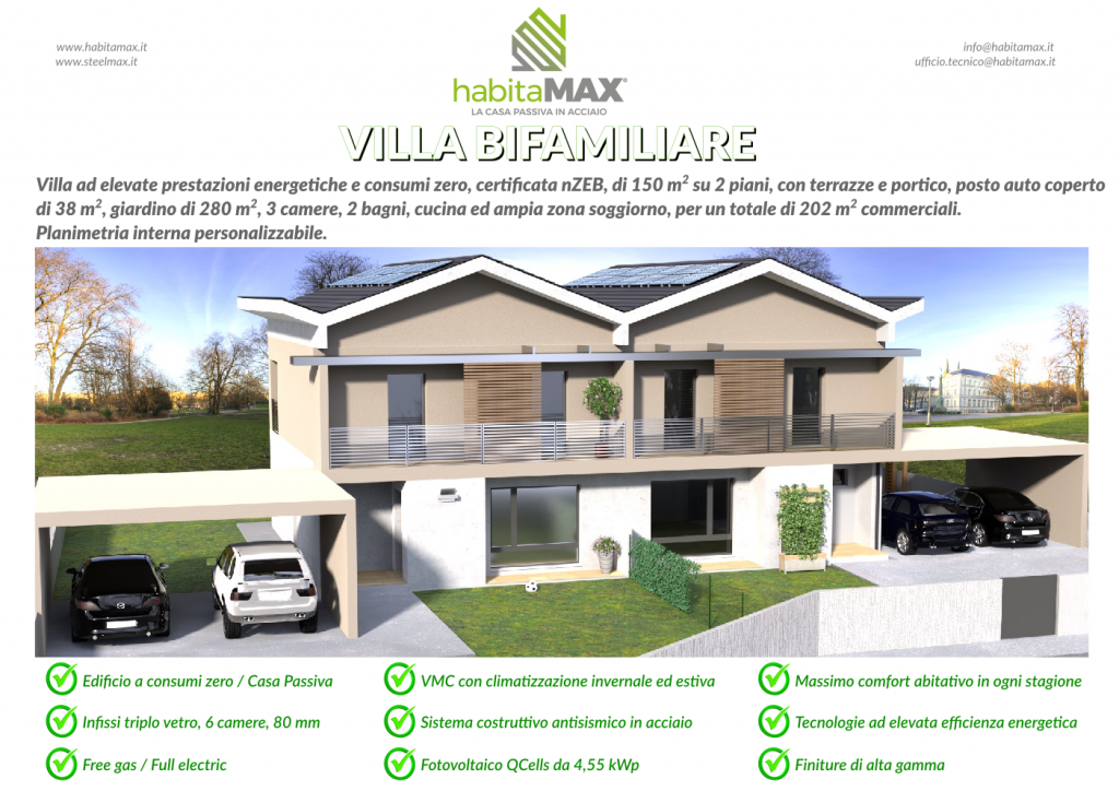 Casa Passiva Acciaio Codroipo Udine